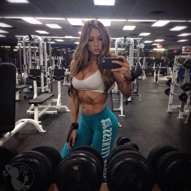 Сексуальные российские фитнес модели