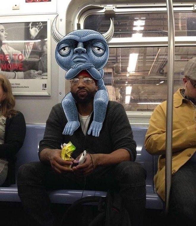 Дала незнакомцу в метро фото 572-696