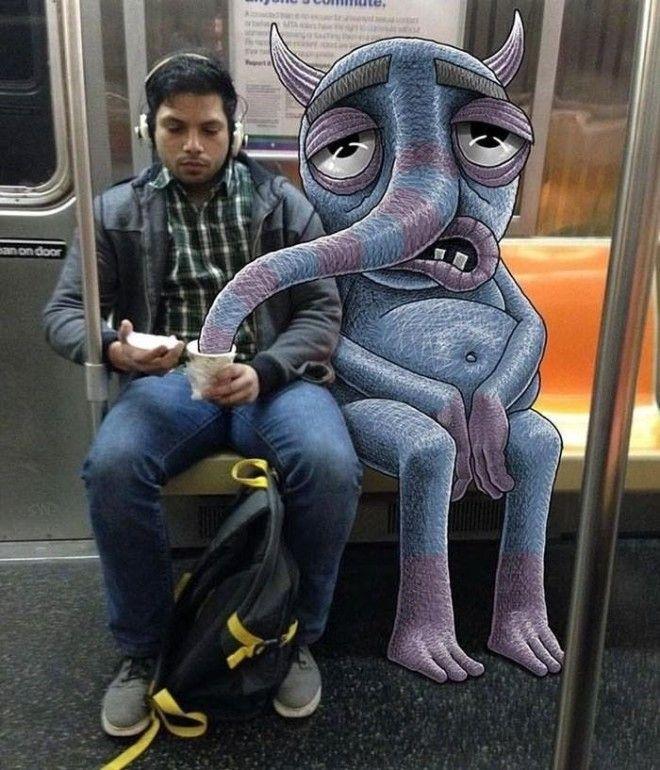 Дала незнакомцу в метро фото 572-392