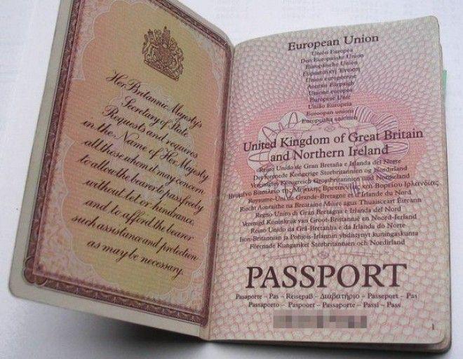 У королевы великобритании нет паспорта. почему