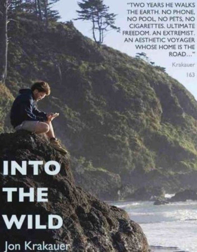 finding the lost purpose in life in into the wild a book by jon krakauer And walks alone upon the land to become lost in the wild jon krakauer's purpose for writing this book was to tell purpose of the novel jon krakauer's.