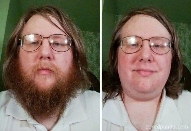 My Playoff Beard: Before And After
