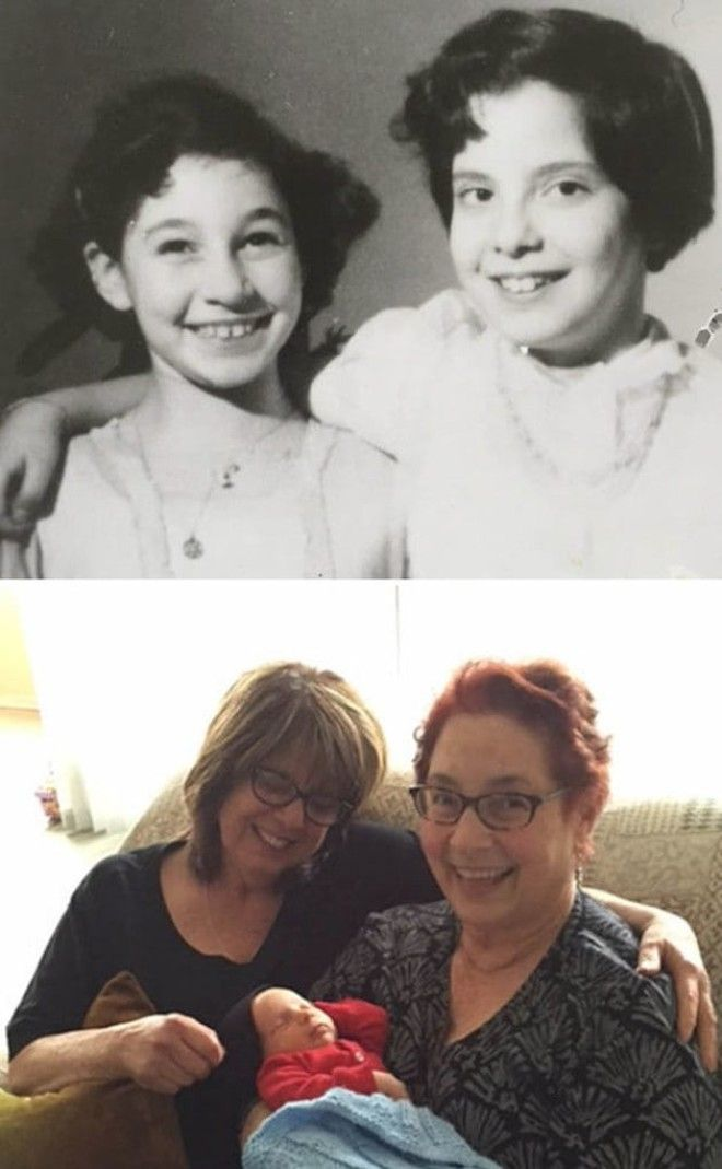 Best Friends For Over 60 Years. We Gained (And Lost) Husbands, Children And Grandchildren. We Are Ever Present In Each Other's Hearts And Lives