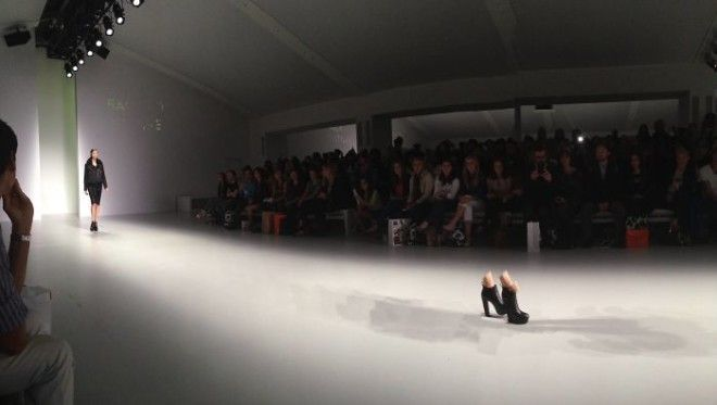 So I Tried To Take A Panorama At London Fashion Week