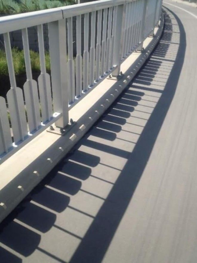 The Shadow Of This Fence Is A Piano