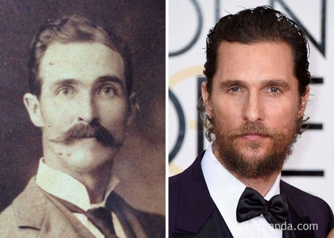 My Great Great Grandfather Looks Just Like Matthew Mcconaughey