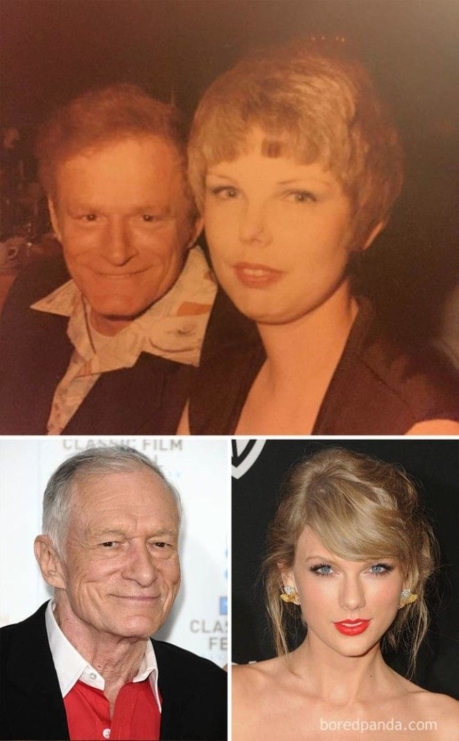 When Your Grandma Looks Like Taylor Swift And Your Grandpa Looks Like Hugh Hefner