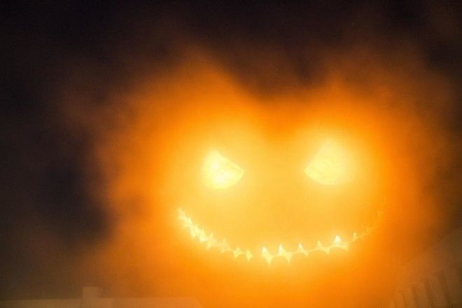 I Took This Long Exposure Shot Of A Pumpkin As My Lense Unknowingly Fogged Up