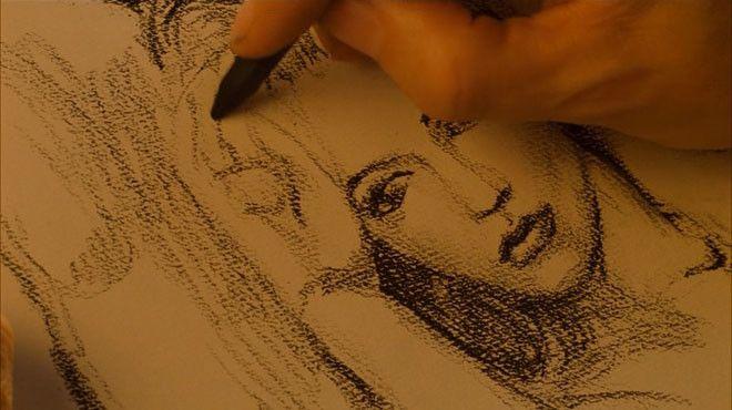 Джек розу рисует