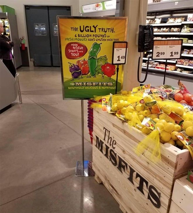 My Local Grocery Store Is Selling Unattractive Produce At Reduced Prices That Would Normally Be Tossed Out
