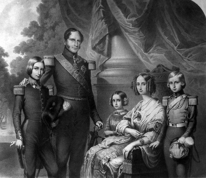 King Leopold I and family