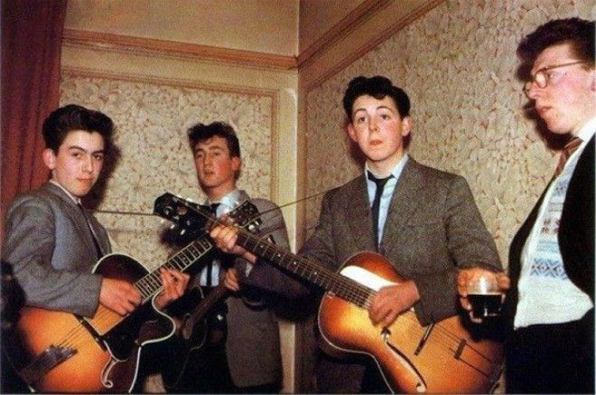 The Beatles, 1957