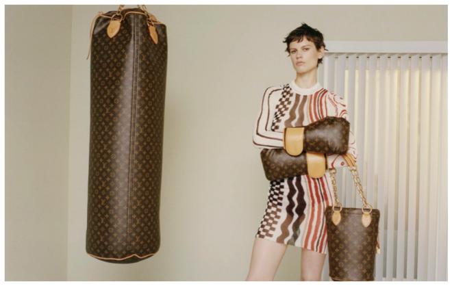 Louis Vuitton и Karl Lagerfeld представили модный комплект для занятий спорт