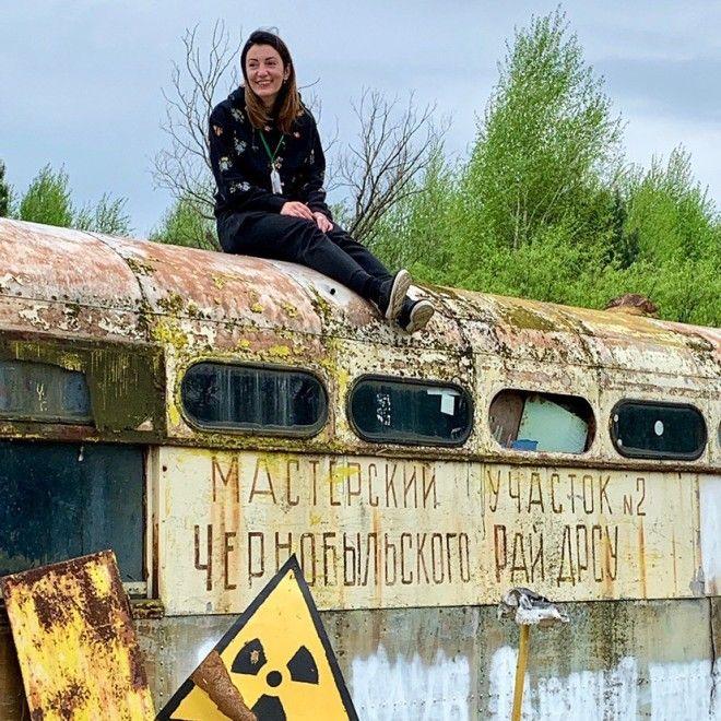 Молодежь прется в Припять чтобы сделать смешные фото