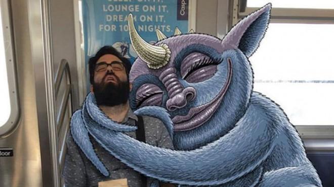 Дала незнакомцу в метро фото 572-203