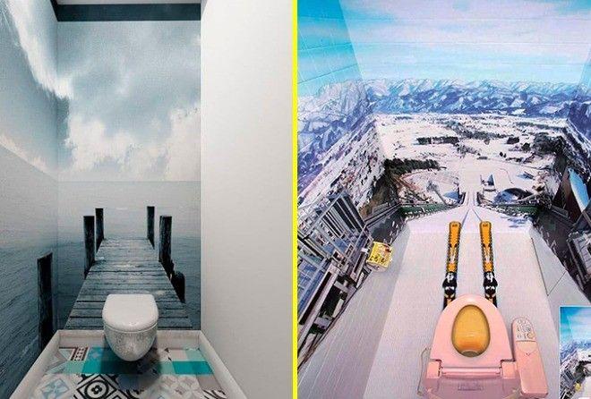 Новости PRO Ремонт - 15 дизайнерских решений для туалетов, которые вдохновят вас на ремонт Самые необычные и забавные идеи!